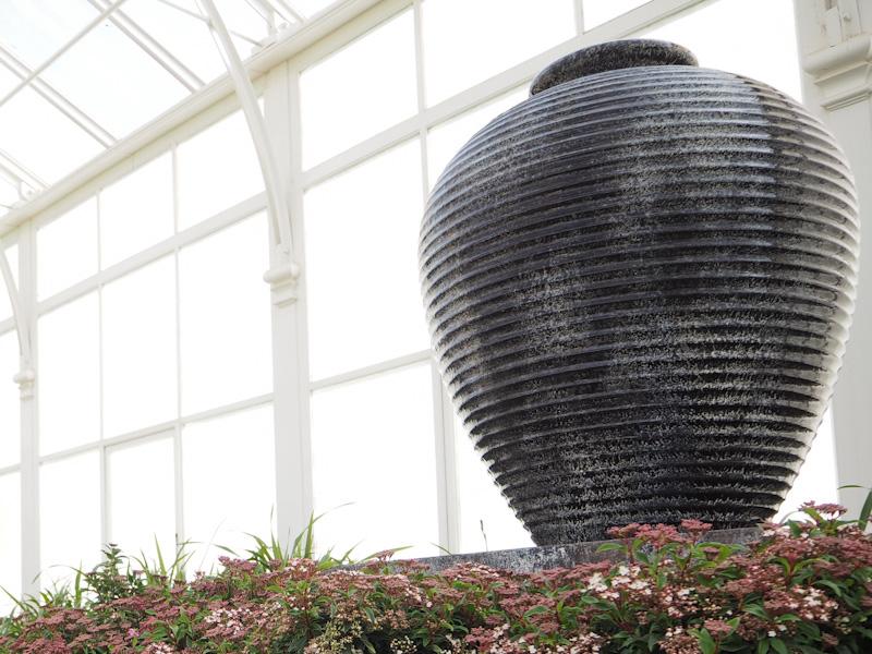 Big pots make a wonderful centrepiece to a garden